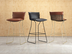 ds-515 bar chair 3D model