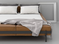 3D ds-1121 152 bed model