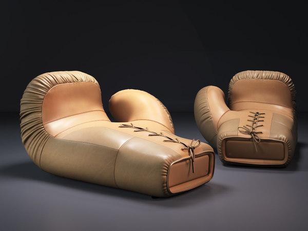 3D model ds-2878 09-10 boxing glove