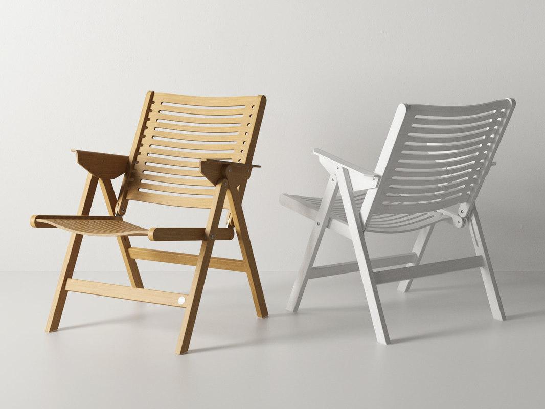 rex lounge chair model