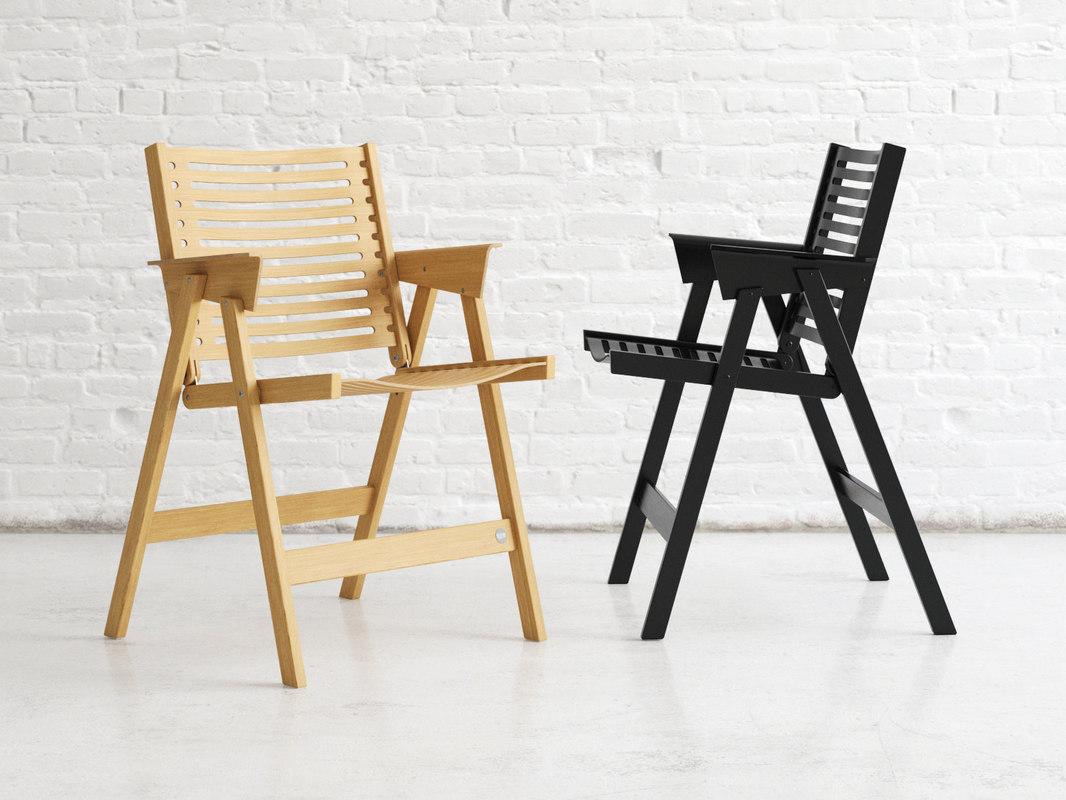 rex chair 3D model