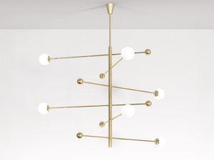 3D model chandelier 08