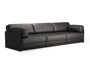 ds-76 3-seater sofa modules 3D model