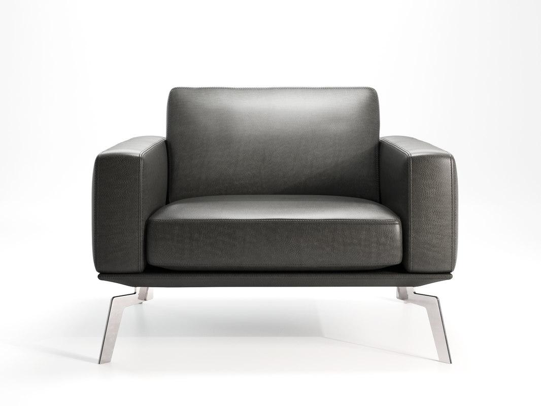 ds-87 01 armchair 3D model