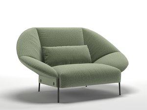 paipai love seat 3D model