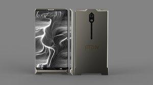 3D smart phone concept modeler