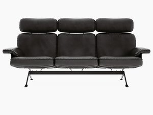 ds-31 113 3-seater sofa 3D