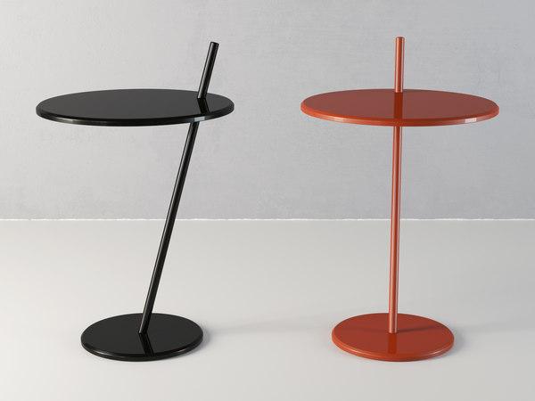 3D good evening pedestal table model