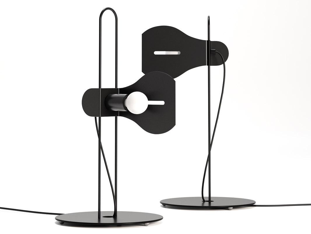 anne table lamp 3D model