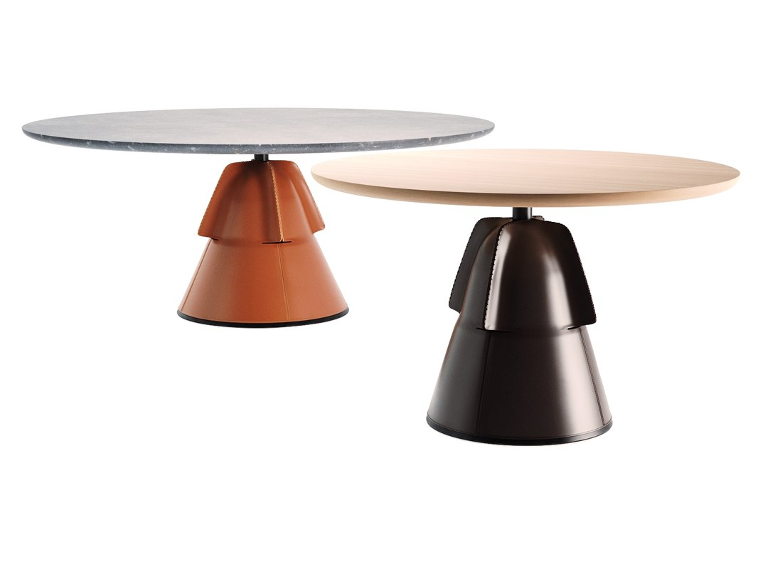 ds-615 dining table 3D model