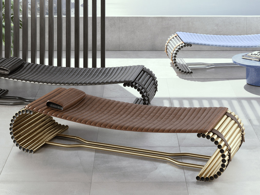 ds-1000 chaise longue 3D