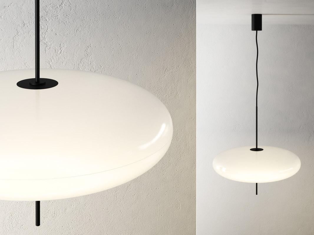 3D 2065 suspension luminaire model