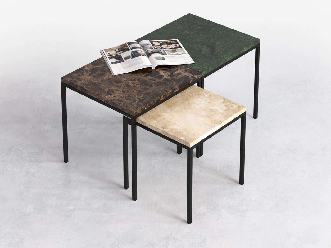 amadora occasional table 3D model