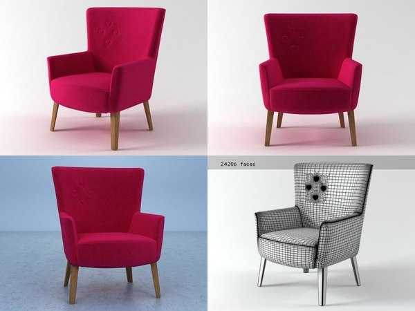 3D chair single model