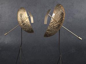 3D ribot lamp