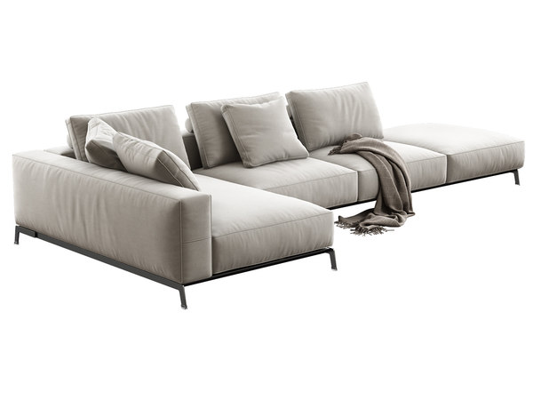 ettore modular sofa 3D