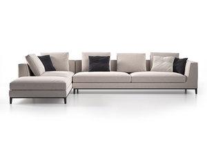 3D lucrezia modular sofa b model