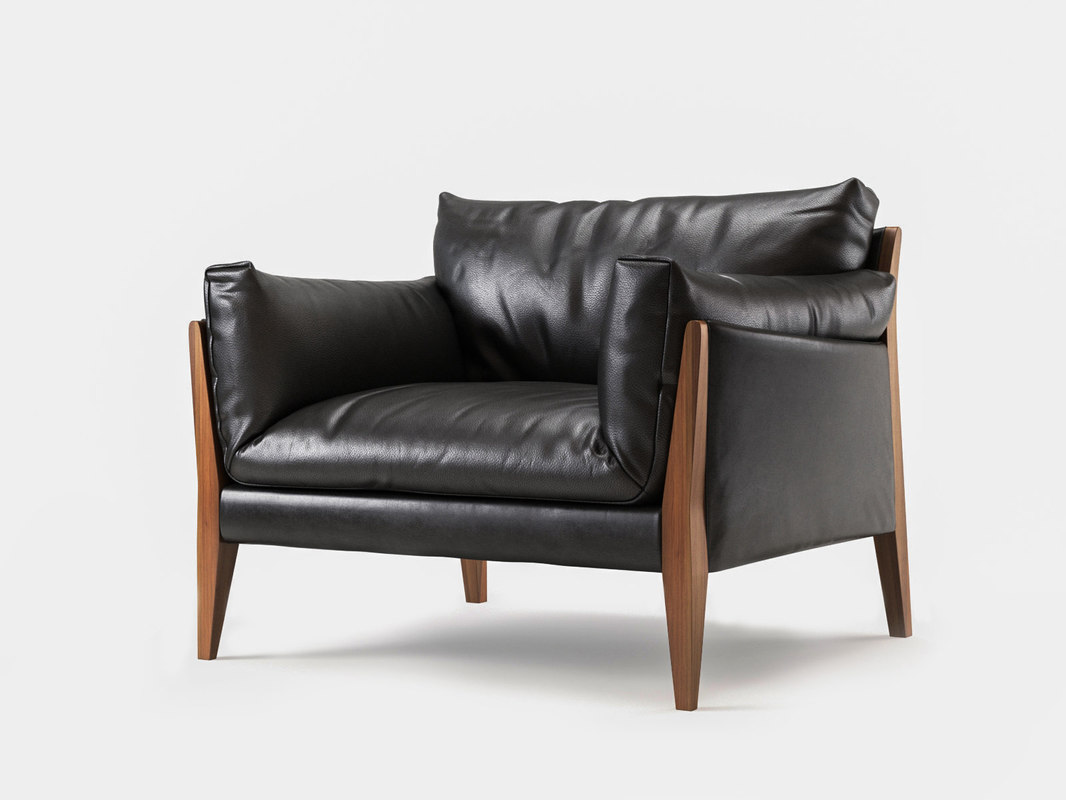 diana 1-seater sofa 3D model