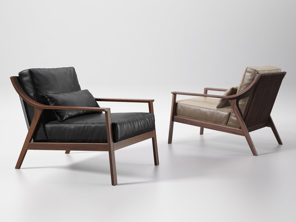 lady armchair 3D model
