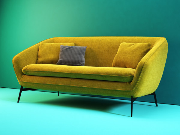 flow sofa 192 3D