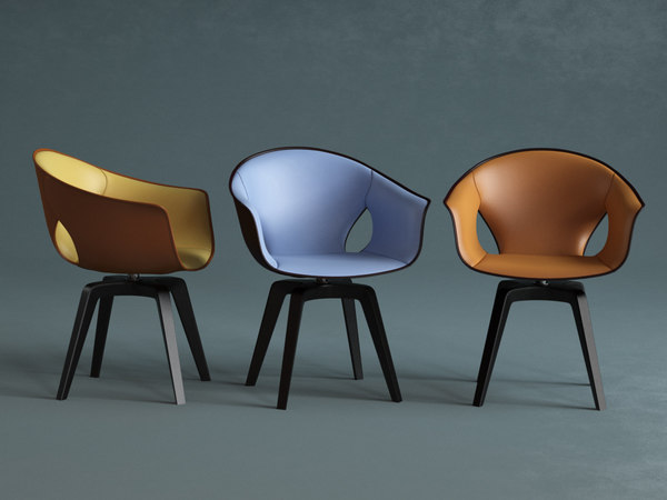 ginger armchair 3D model