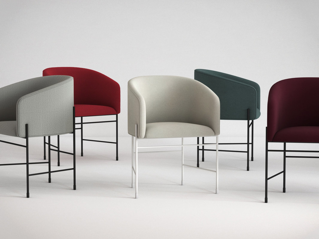 covent chair 3D model