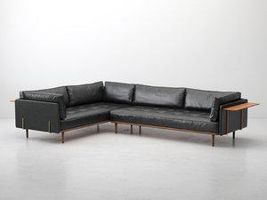 utility corner sofa 3D
