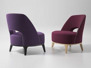 3D ermione armchair