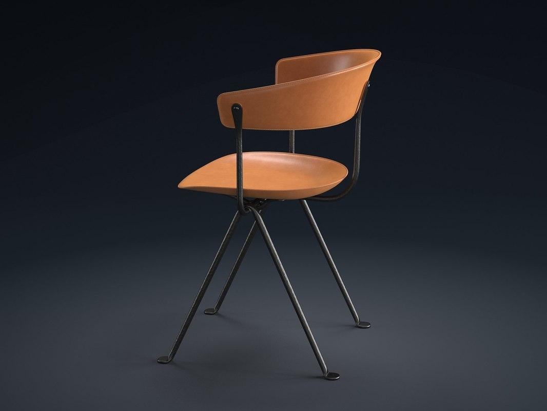 officina chair 3D model