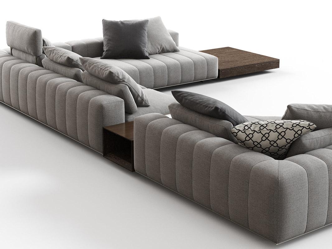 freeman corner sofa g 3D model