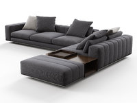 3D freeman corner sofa n