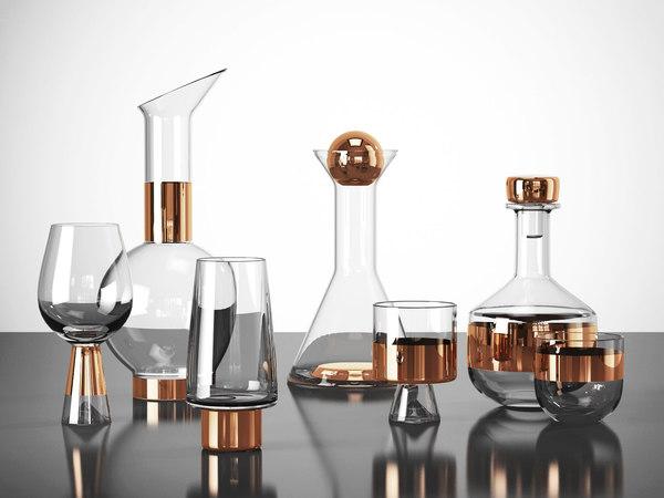 tank glassware 3D model