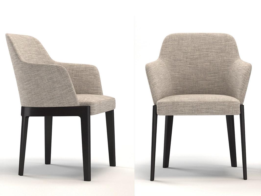 3D chelsea csb1 armchair