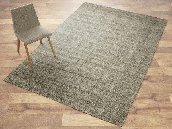 fiber wood rug 3D model