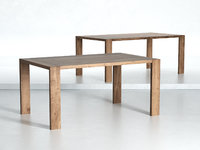 3D eaton dining table 160-190 model