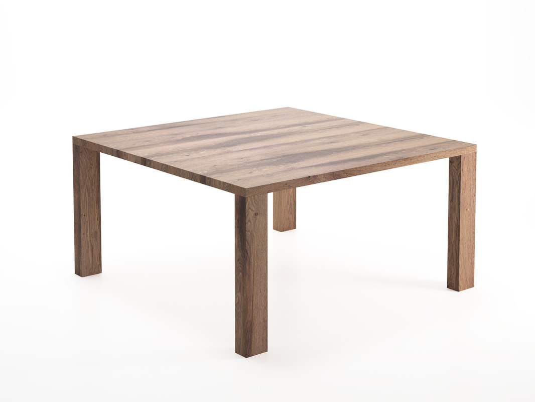 3D ds-777 dining table wood