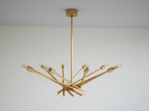 webster chandelier 3D model