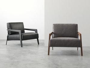 3D cecile armchair model