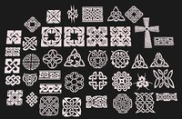 3D celtic ornament pack