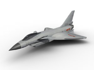 j10 chengdu 3D model