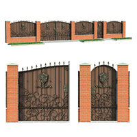 fence house 3D model