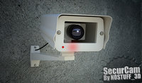 3D wireless security camera