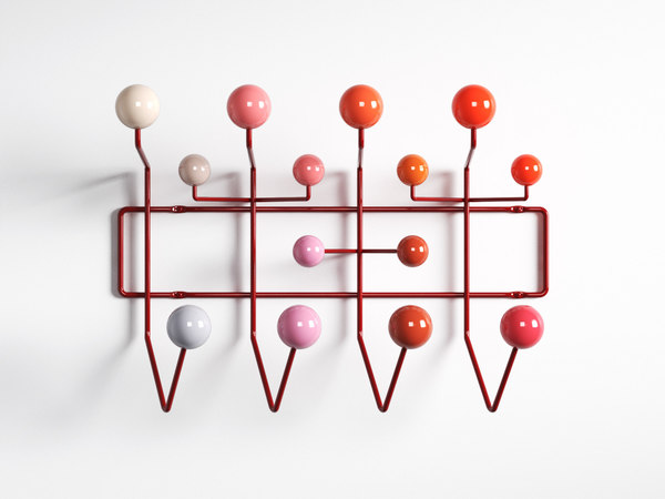 hang coat rack 3D model