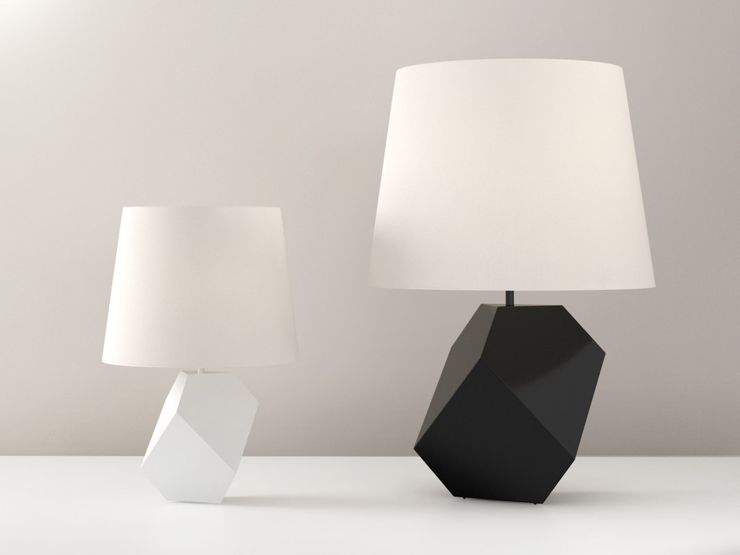 3D durer table lamp