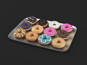 donuts pack1 3D model