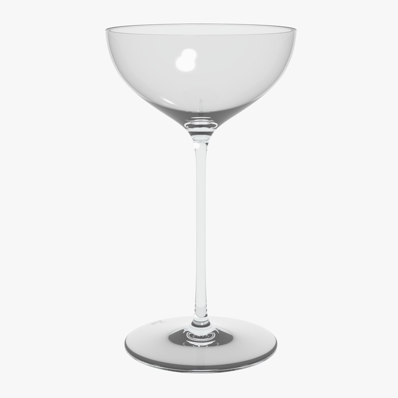 3D glass riedel superleggero coupe