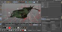 3D model spaceship dropship cheyenne