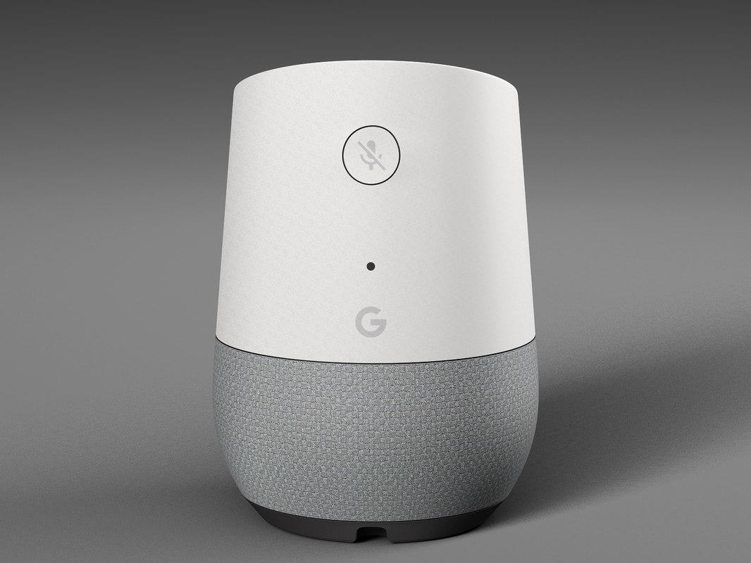 google home 3D