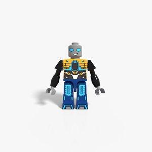 3D micro lego model