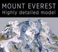 mount everest model